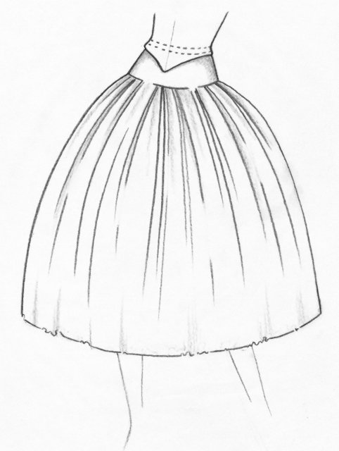 My New Butterick Patterns For Spring additionally Thing likewise Free Printable Baby Dress Patterns besides Tutu Specifications as well Free Poodle Skirt Pattern For Girls 26page 4. on circle skirt fashion