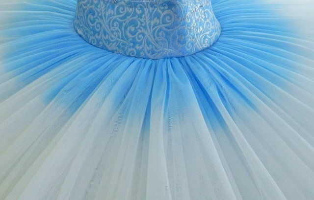China Blue Tutu ready for tacking (640x409)